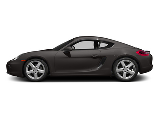 Anthracite Brown Metallic 2015 Porsche Cayman Pictures Cayman Coupe 2D H6 photos side view