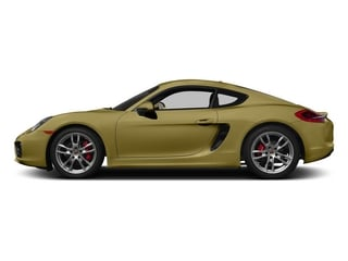 Lime Gold Metallic 2015 Porsche Cayman Pictures Cayman Coupe 2D GTS H6 photos side view