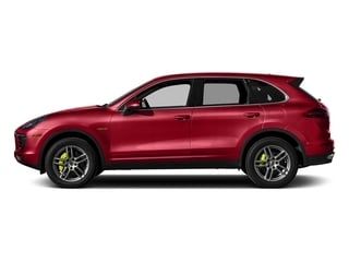 Carmine Red 2015 Porsche Cayenne Pictures Cayenne Utility 4D S V6 e-Hybrid AWD photos side view