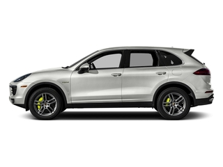 White 2015 Porsche Cayenne Pictures Cayenne Utility 4D S V6 e-Hybrid AWD photos side view
