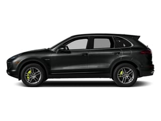 Jet Black Metallic 2015 Porsche Cayenne Pictures Cayenne Utility 4D S V6 e-Hybrid AWD photos side view