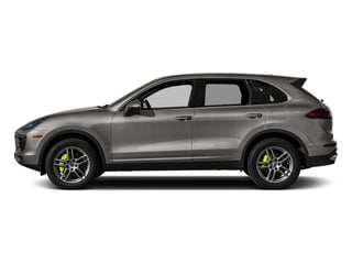 Meteor Gray Metallic 2015 Porsche Cayenne Pictures Cayenne Utility 4D S V6 e-Hybrid AWD photos side view