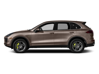 Umber Metallic 2015 Porsche Cayenne Pictures Cayenne Utility 4D S V6 e-Hybrid AWD photos side view