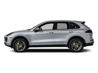 Rhodium Silver Metallic 2015 Porsche Cayenne Pictures Cayenne Utility 4D S V6 e-Hybrid AWD photos side view