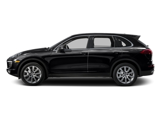 Black 2015 Porsche Cayenne Pictures Cayenne Utility 4D AWD V6 T-Diesel photos side view