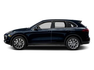 Moonlight Blue Metallic 2015 Porsche Cayenne Pictures Cayenne Utility 4D AWD V6 T-Diesel photos side view