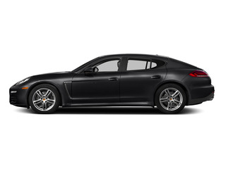 Black 2015 Porsche Panamera Pictures Panamera Hatchback 4D S Exec AWD V8 Turbo photos side view