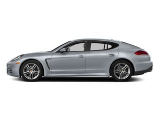 Rhodium Silver Metallic 2015 Porsche Panamera Pictures Panamera Hatchback 4D S Exec AWD V8 Turbo photos side view