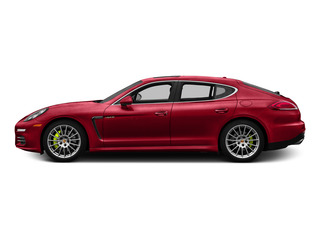 Carmine Red 2015 Porsche Panamera Pictures Panamera Hatchback 4D S e-Hybrid V6 photos side view