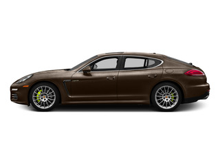 Chestnut Brown Metallic 2015 Porsche Panamera Pictures Panamera Hatchback 4D S e-Hybrid V6 photos side view