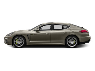 Palladium Metallic 2015 Porsche Panamera Pictures Panamera Hatchback 4D S e-Hybrid V6 photos side view