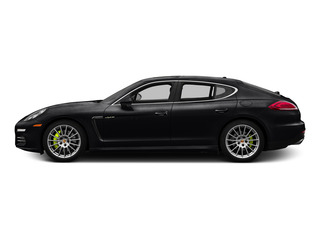 Black 2015 Porsche Panamera Pictures Panamera Hatchback 4D S e-Hybrid V6 photos side view