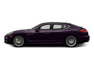 Amethyst Metallic 2015 Porsche Panamera Pictures Panamera Hatchback 4D S e-Hybrid V6 photos side view