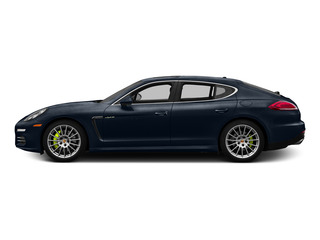 Yachting Blue Metallic 2015 Porsche Panamera Pictures Panamera Hatchback 4D S e-Hybrid V6 photos side view