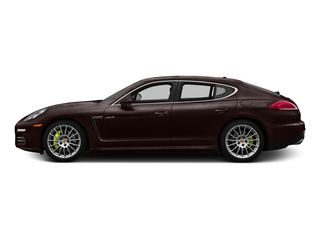 Mahogany Metallic 2015 Porsche Panamera Pictures Panamera Hatchback 4D S e-Hybrid V6 photos side view