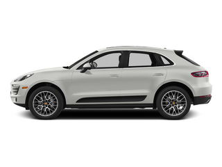 White 2015 Porsche Macan Pictures Macan Utility 4D AWD V6 Turbo photos side view