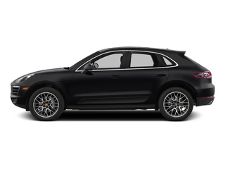 Black 2015 Porsche Macan Pictures Macan Utility 4D AWD V6 Turbo photos side view