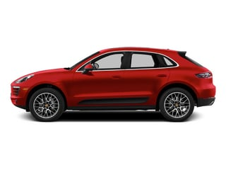 Impulse Red Metallic 2015 Porsche Macan Pictures Macan Utility 4D AWD V6 Turbo photos side view