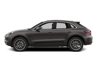 Agate Gray Metallic 2015 Porsche Macan Pictures Macan Utility 4D AWD V6 Turbo photos side view