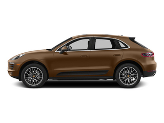 Aurum Metallic 2015 Porsche Macan Pictures Macan Utility 4D AWD V6 Turbo photos side view