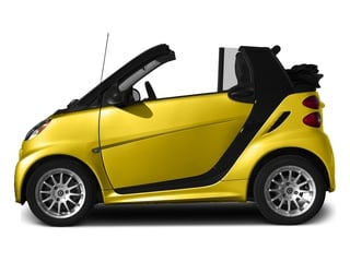 Clear Flame Yellow 2015 smart fortwo Pictures fortwo Convertible 2D Passion I3 photos side view