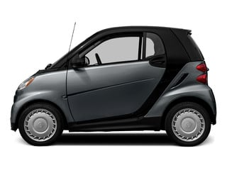 Gray Matte 2015 smart fortwo Pictures fortwo Coupe 2D Pure I3 photos side view