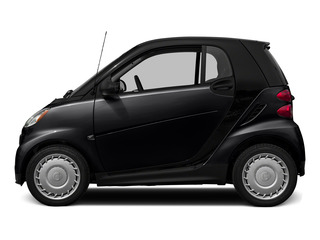 Deep Black 2015 smart fortwo Pictures fortwo Coupe 2D Passion I3 photos side view
