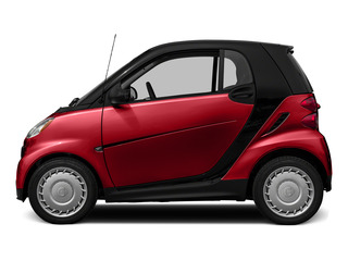 Rally Red 2015 smart fortwo Pictures fortwo Coupe 2D Passion I3 photos side view