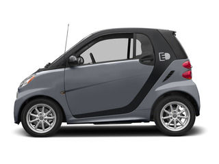 Gray Matte 2015 smart fortwo electric drive Pictures fortwo electric drive Coupe 2D Electric photos side view