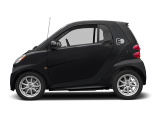 Deep Black 2015 smart fortwo electric drive Pictures fortwo electric drive Coupe 2D Electric photos side view