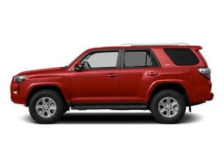 Barcelona Red Metallic 2015 Toyota 4Runner Pictures 4Runner Utility 4D Trail Edition 4WD V6 photos side view