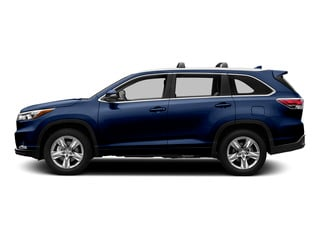 Nautical Blue Metallic 2015 Toyota Highlander Pictures Highlander Utility 4D LE 2WD I4 photos side view