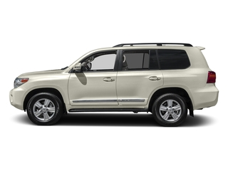 Blizzard Pearl 2015 Toyota Land Cruiser Pictures Land Cruiser Utility 4D 4WD V8 photos side view