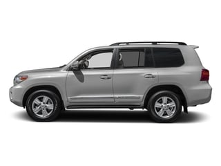 Classic Silver Metallic 2015 Toyota Land Cruiser Pictures Land Cruiser Utility 4D 4WD V8 photos side view