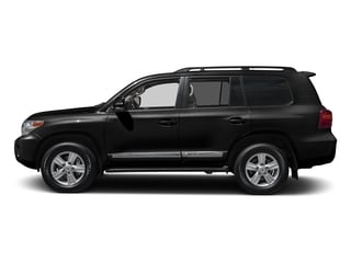 Black 2015 Toyota Land Cruiser Pictures Land Cruiser Utility 4D 4WD V8 photos side view