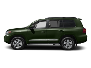 Amazon Green Metallic 2015 Toyota Land Cruiser Pictures Land Cruiser Utility 4D 4WD V8 photos side view