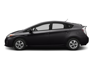 Winter Gray Metallic 2015 Toyota Prius Pictures Prius Liftback 5D Five I4 Hybrid photos side view