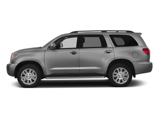 Silver Sky Metallic 2015 Toyota Sequoia Pictures Sequoia Utility 4D Limited 2WD V8 photos side view