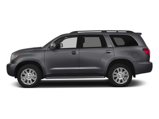 Magnetic Gray Metallic 2015 Toyota Sequoia Pictures Sequoia Utility 4D Limited 2WD V8 photos side view