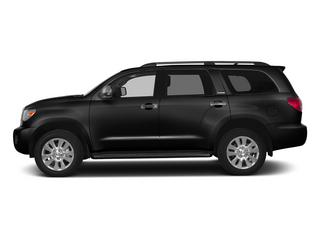 Black 2015 Toyota Sequoia Pictures Sequoia Utility 4D Limited 2WD V8 photos side view