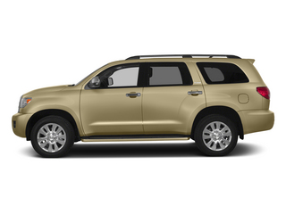 Sandy Beach Metallic 2015 Toyota Sequoia Pictures Sequoia Utility 4D Limited 2WD V8 photos side view