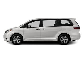 Super White 2015 Toyota Sienna Pictures Sienna Wagon 5D LE V6 photos side view