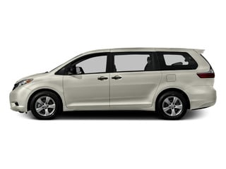 Blizzard Pearl 2015 Toyota Sienna Pictures Sienna Wagon 5D Limited AWD V6 photos side view
