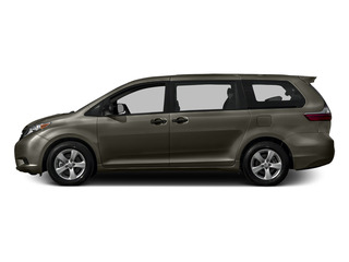 Predawn Gray Mica 2015 Toyota Sienna Pictures Sienna Wagon 5D LE V6 photos side view