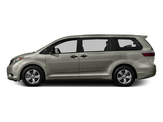 Creme Brulee Mica 2015 Toyota Sienna Pictures Sienna Wagon 5D LE V6 photos side view