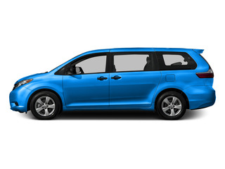 Sky Blue Pearl 2015 Toyota Sienna Pictures Sienna Wagon 5D LE V6 photos side view
