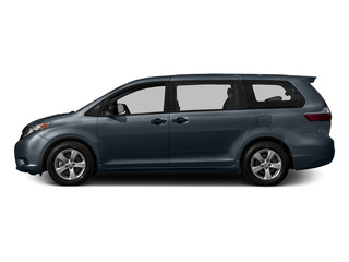 Shoreline Blue Pearl 2015 Toyota Sienna Pictures Sienna Wagon 5D LE V6 photos side view