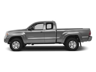 Silver Sky Metallic 2015 Toyota Tacoma Pictures Tacoma Base Access Cab 4WD V6 photos side view