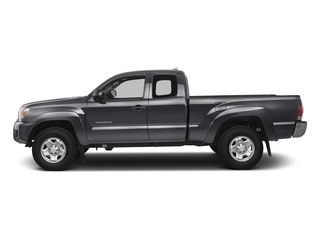 Magnetic Gray Metallic 2015 Toyota Tacoma Pictures Tacoma Base Access Cab 4WD V6 photos side view