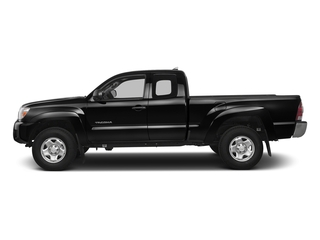 Black 2015 Toyota Tacoma Pictures Tacoma Base Access Cab 4WD V6 photos side view